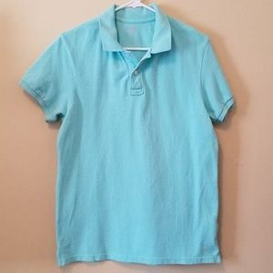 Old Navy SS polo. Solid color.